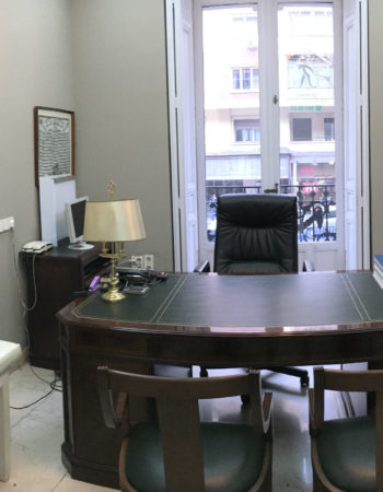 Consultation in Madrid in medical center