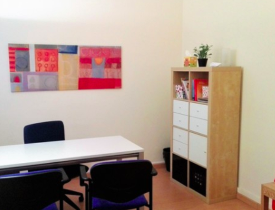 Shared offices in Psychology Center