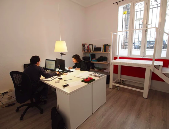Coworking space in Madrid