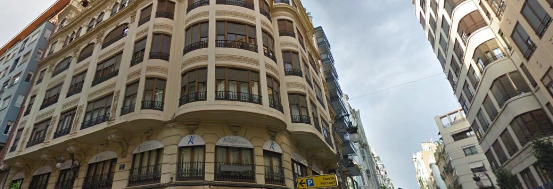 Despachos compartidos en el centro de Valencia. Alquiler en la Plaza del Ayuntamiento de VLC