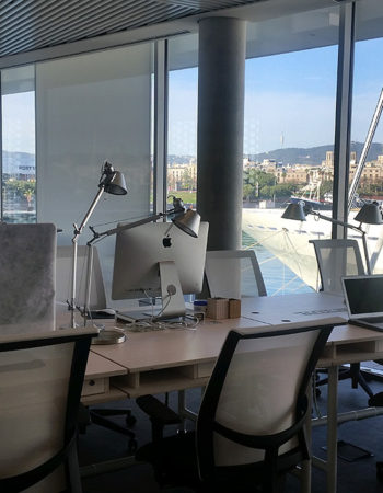 Coworking Onecowork en Barcelona. Coworking en el Náutico del Port Vell, Barcelona