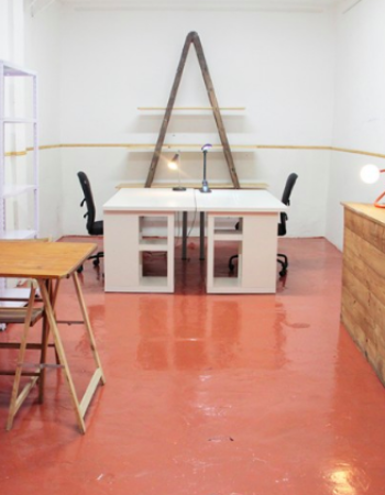 Alquiler estudio Madrid compartido por artistas y artesanos en Malasaña