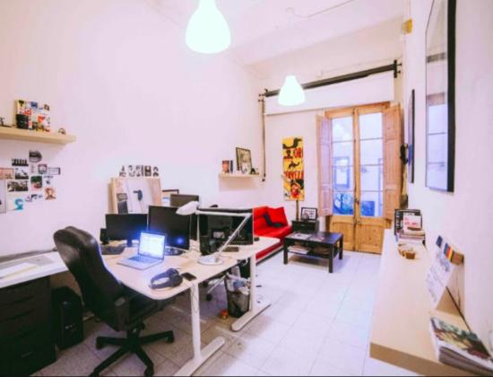 Alquiler carrer d Eusebi Planas | Estudio audiovisual y gráfico