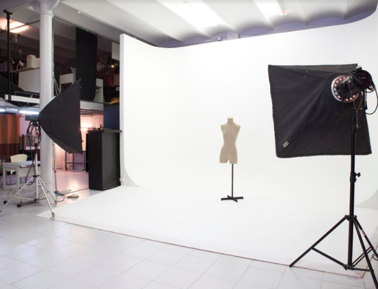 Estudio de fotografía en alquiler con ciclorama