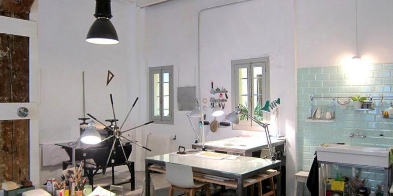 Taller en La Latina | Un espacio libre para artistas