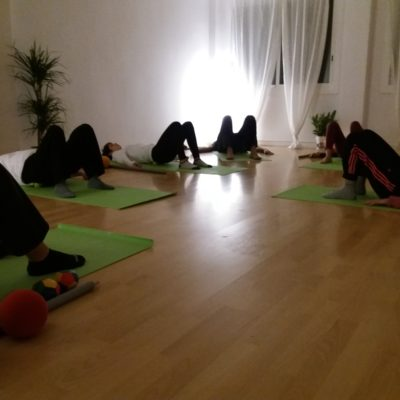 Shared yoga room