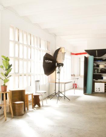 Rent of photographic studio in Barcelona