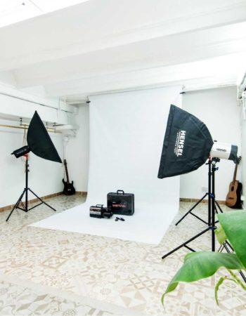 Alquiler escenarios para cursos, conferencias y sesiones de fotografía.