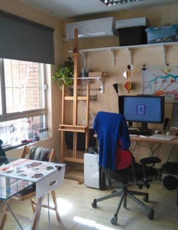 Workstation in attic