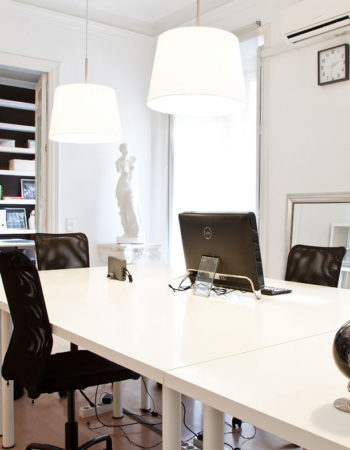 Rental in Chueca of private offices + coworking