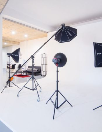 Rental of set for photo and video in Barcelona
