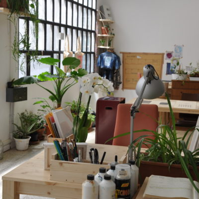 Creative space for artists, illustrators, artisans
