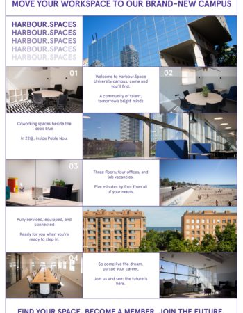 Harbour.Space University Office/Coworking Space