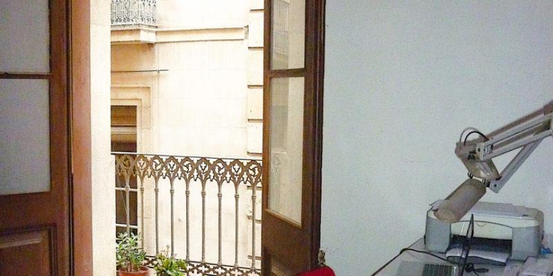 Studio rental in the Gothic quarter