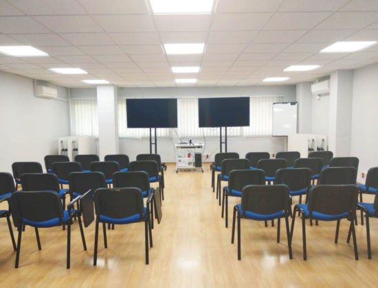 Economic and modern training rooms
