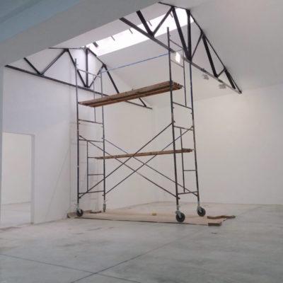 Espacio en taller de artistas Usera
