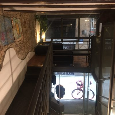 Barcelona local for rental | Mezzanine space in Ciutat Vella Barcelona