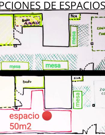 Taller en Madrid compartido | Compartimos nave grande | Otro Taller