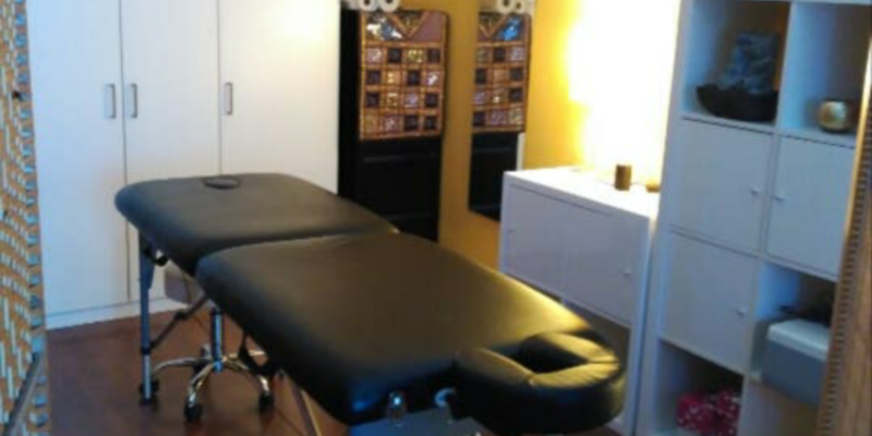 Massage cabin – physiotherapy