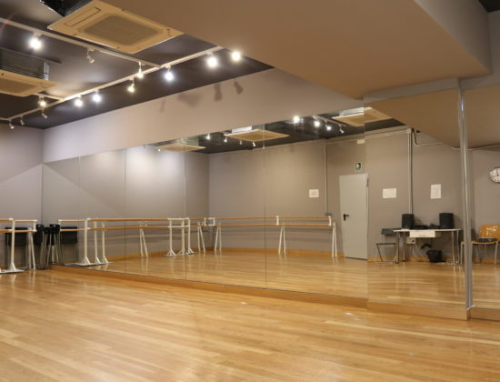 Rental of spaces for dance, yoga, therapy …