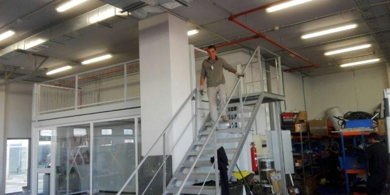 Shared warehouse rental Madrid