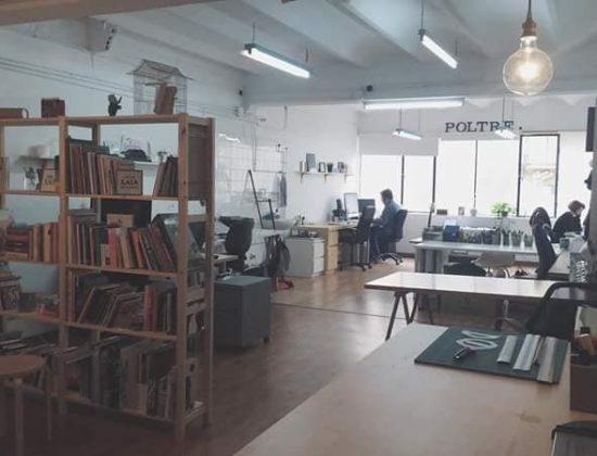 Shared studio in Gracia