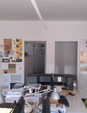 Shared office of architects
