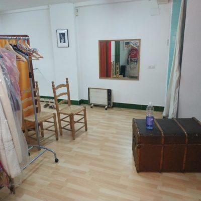 Cultural association space for art studio-workshop or office