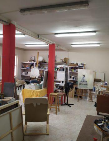 Shared workshop in Paseo de la Habana