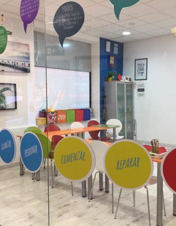Alquiler de despachos individuales y salas de reuniones y talleres