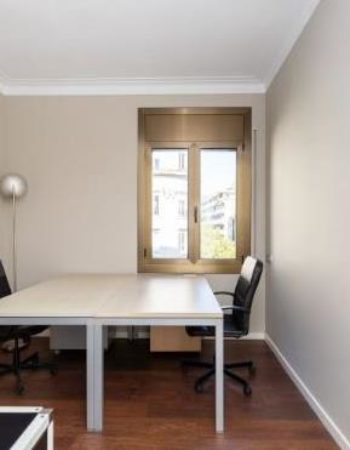 Independent office rental in coworking space