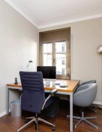 Alquiler de oficina independiente en espacio de coworking