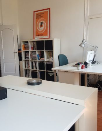Shared office in the Eixample