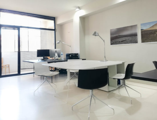 Shared office rental Poblenou