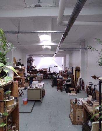Open space in workshop