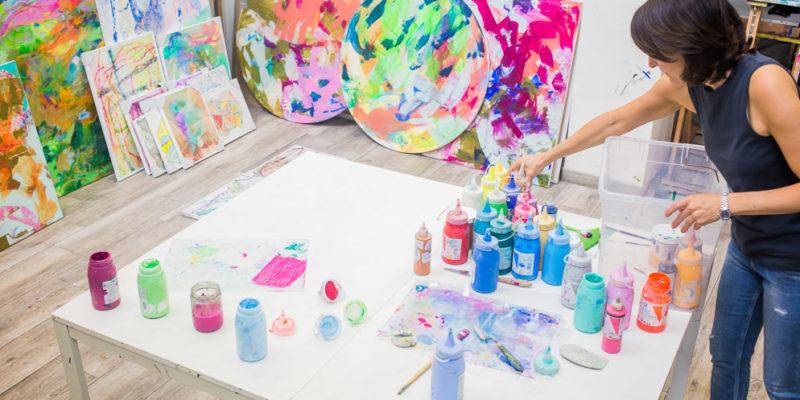 Shared workshop for artists