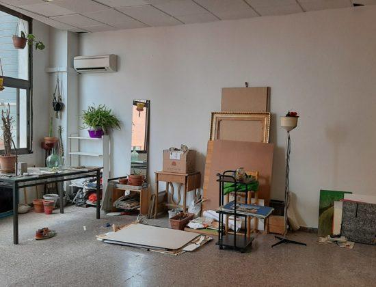 Coworking workshop for artists and craftsmen